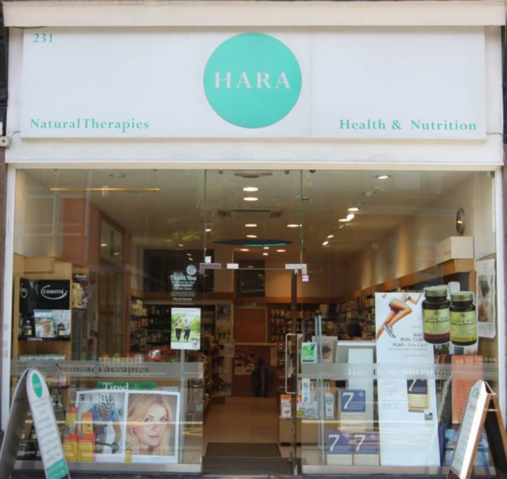 Ayurveda Treatments and Cosulting at Hara Healthfood Store in Finchley Road London