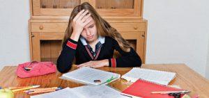 teen-girl-homeowrk-stress