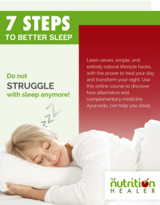 7 Simple Steps to Better Sleep